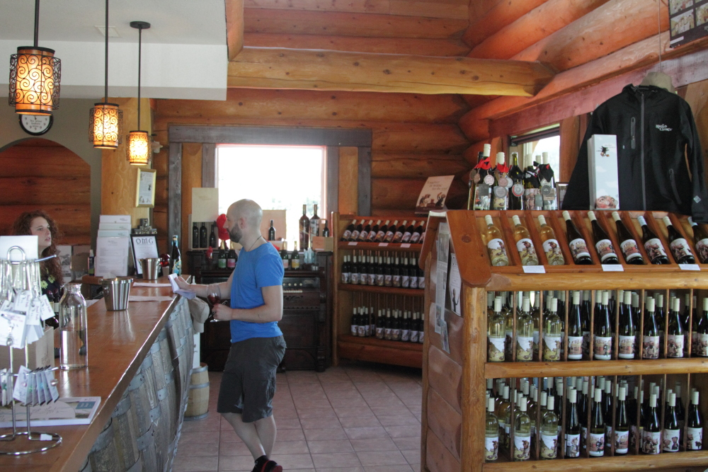 ede1b2407c Blasted Church: Canada's least stuffy winery? | Dispatches from a ...